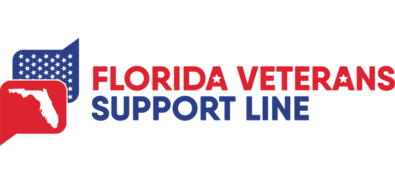 Florida Veteran Support Line: 1-844-MYFLVET (693-5838)